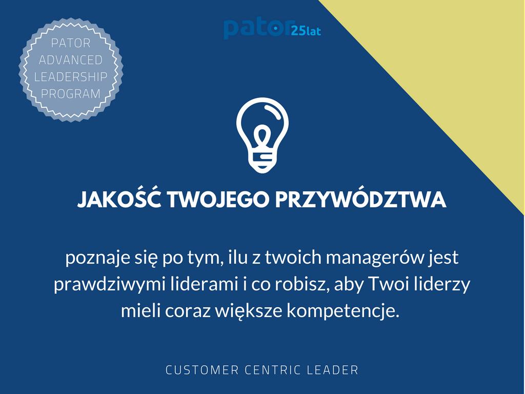 Kompetencje Twoich liderów.